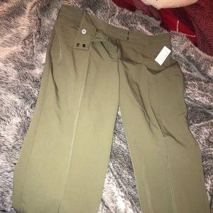 Dress Barn Olive Green Dress Pants